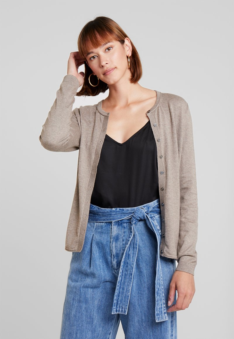edc by Esprit - BASIC - Cardigan - taupe