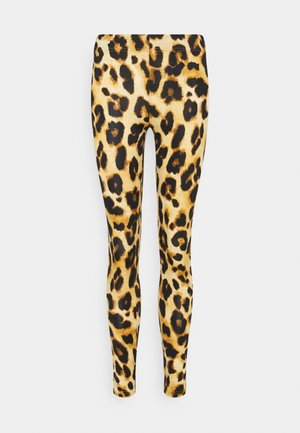 JDYSHAWN - Leggings - Trousers - autumn blonde/leo