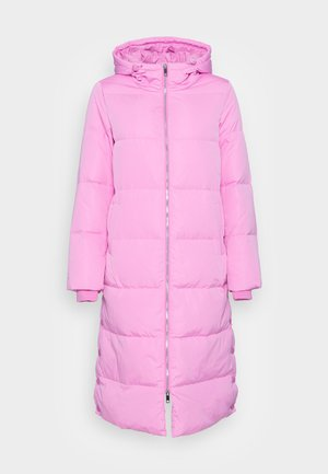 LONG COAT - Donsjas - fuschia pink