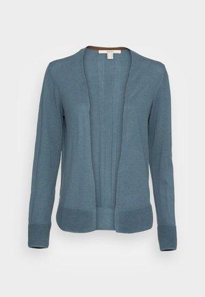 CARDI OPEN - Cardigan - grey blue