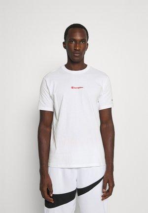 GRAPHIC SHOP BASKET CREWNECK - Print T-shirt - white