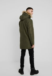 Only & Sons - ONSBASIL JACKET NOOS - Winter coat - forest night - 2