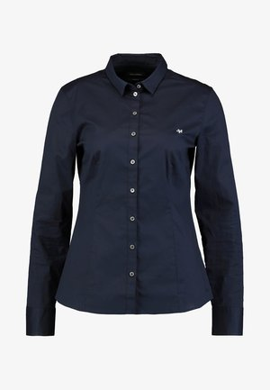 BLOUSE CLASSIC STYLE - Button-down blouse - night tide