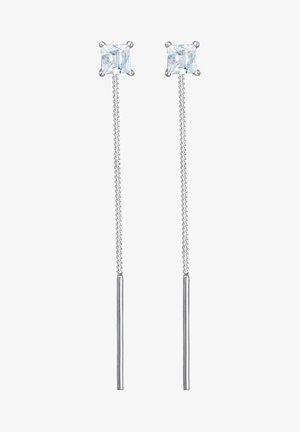 GEO KUGEL MINIMAL - Earrings - silver-coloured