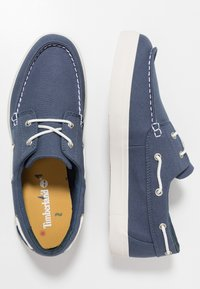 Timberland - UNION WHARF 2 EYE - Boat shoes - dark blue - 1