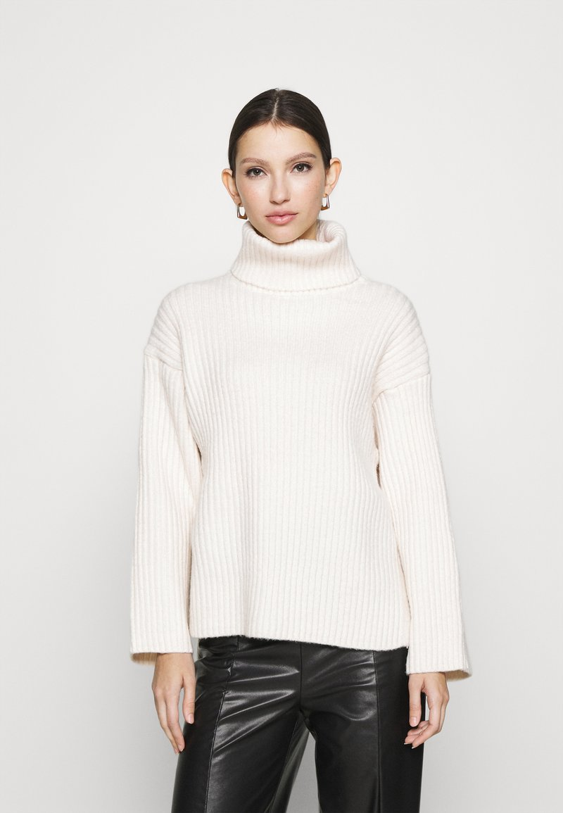 Gina Tricot - TESSA KNITTED  - Jumper - warm white