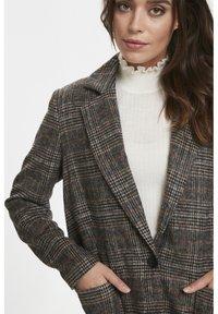 Soaked in Luxury - JILLIAN - Short coat - black/brown/cream - 5