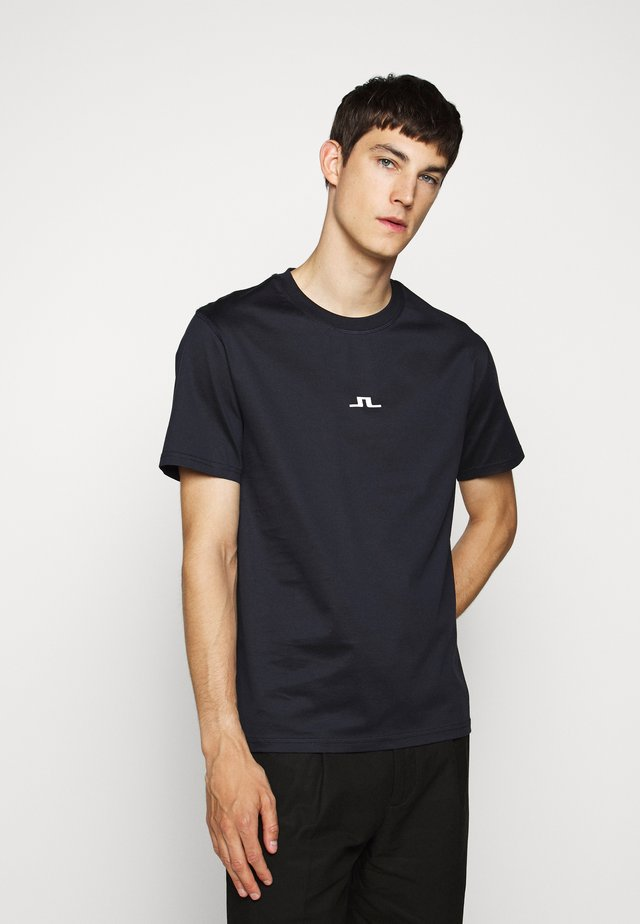 BRIDGE  - T-shirt basic - navy