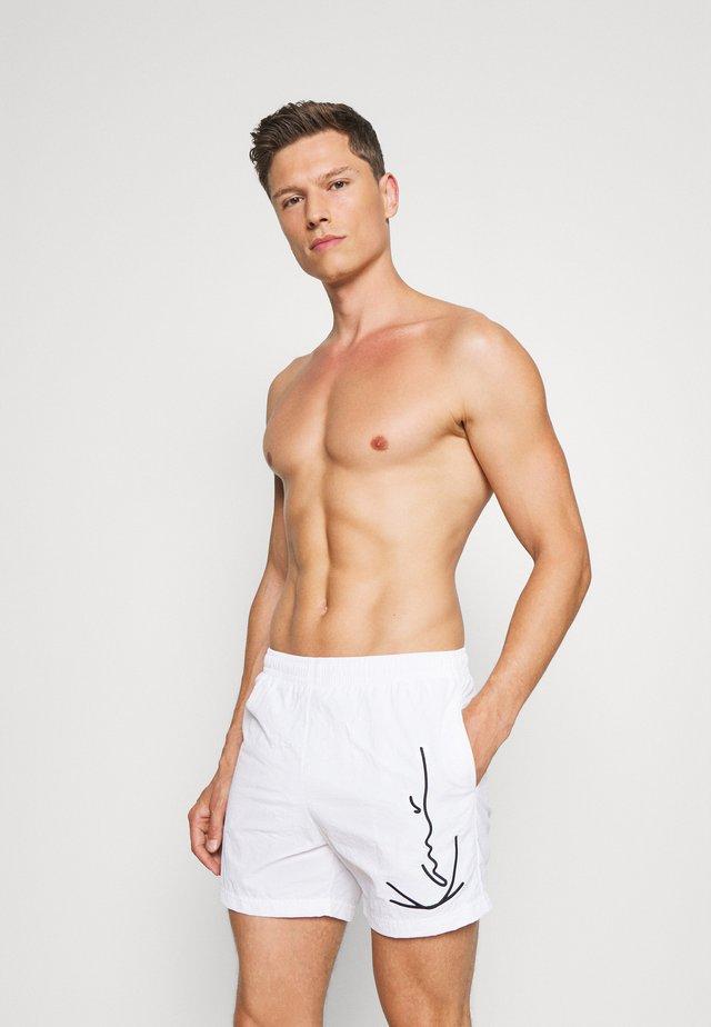 SIGNATURE BOARD - Zwemshorts - white
