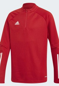 adidas Performance - CONDIVO 20 PRIMEGREEN TRACK - Long sleeved top - red - 2
