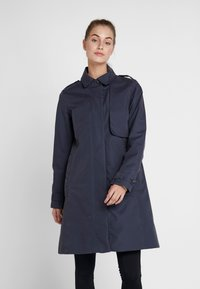 Didriksons - MILA WOMEN'S COAT - Waterproof jacket - navy dust - 0