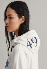 GANT - Zip-up hoodie - eggshell - 4