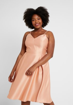 Cocktail dress / Party dress - apricot