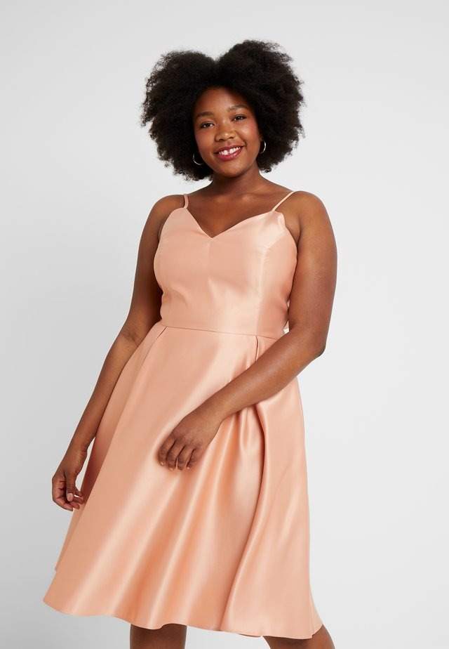 Cocktail dress / Party dress - apricot