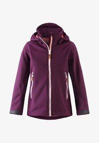 Reima - VANDRA UNISEX - Soft shell jacket - deep purple - 0