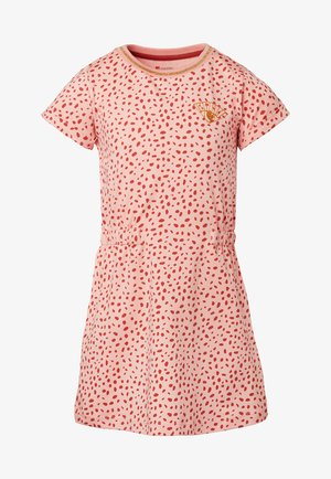 LUMSDEN - Jersey dress - coral cloud