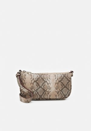 MIRELLA SNAKE MONI BAG - Handbag - plum