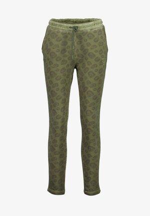 SWEATHOSE LEO SLIM PANTS - Tracksuit bottoms - vinegard green