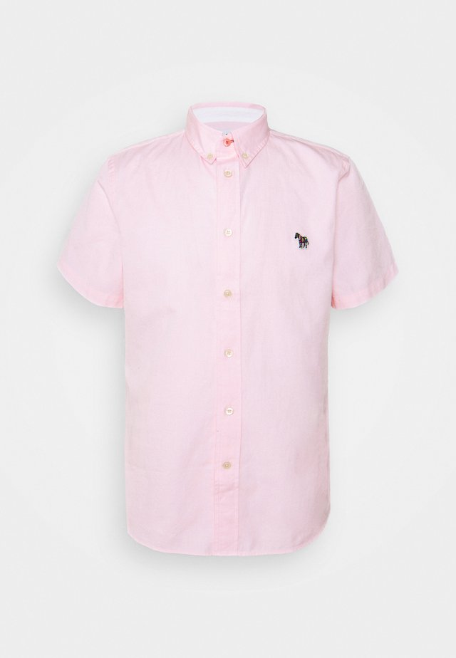 MENS TAILORED FIT ZEB BADGE - Chemise - pink