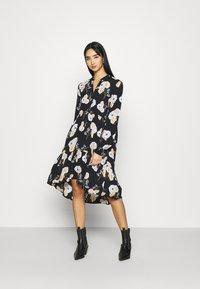Pieces - PCNADI DRESS  - Denní šaty - black - 0