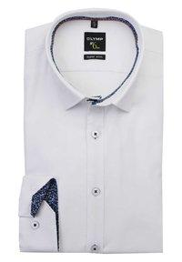 OLYMP - OLYMP NO. SIX SUPER SLIM HEMD LANGARM STRUKTUR WEIFL - Formal shirt - weifl - 0