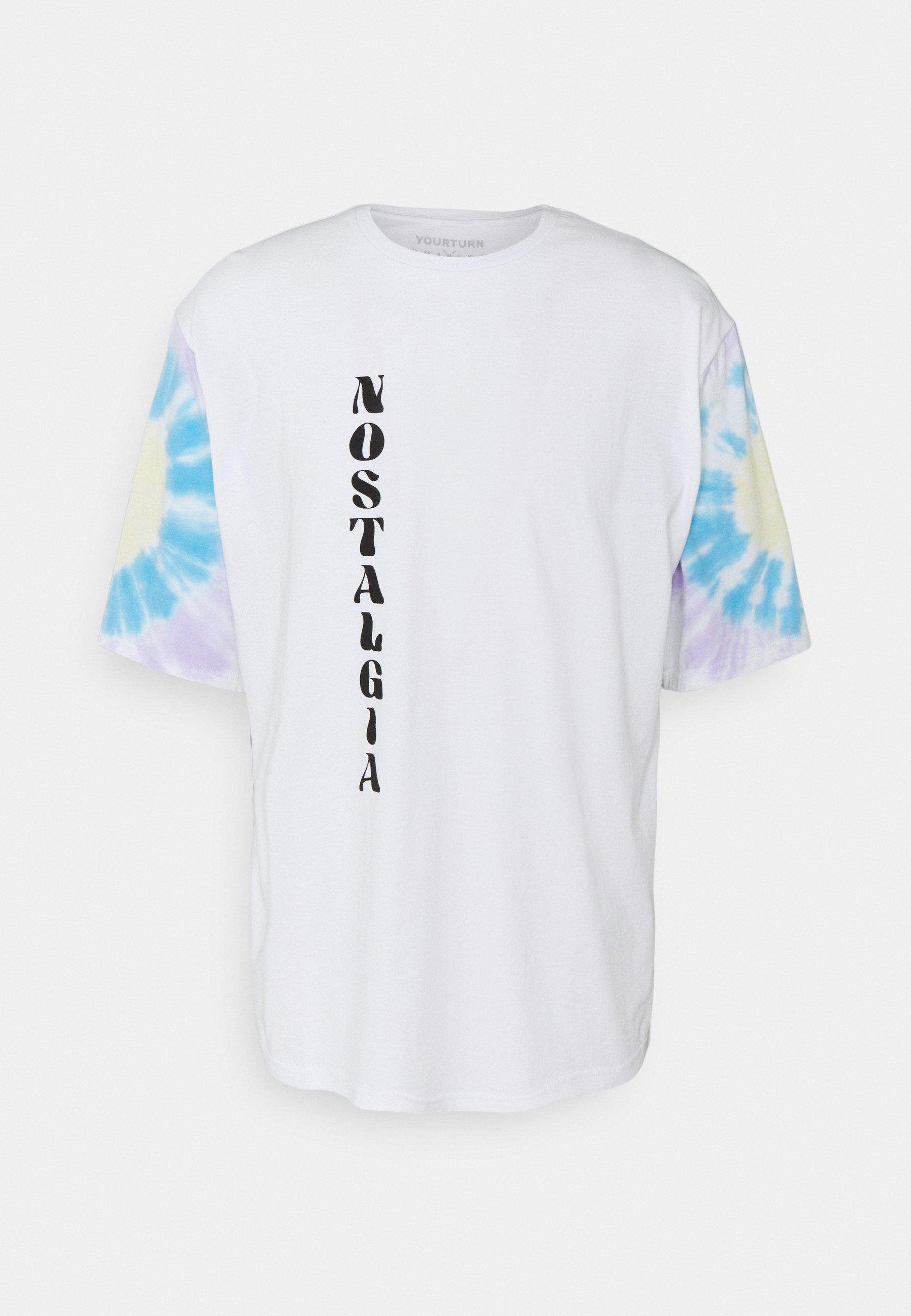 Men TIE DYE SLEEVES UNISEX - Print T-shirt