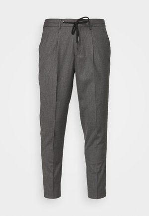 JAX GREY CROP PANTS - Pantalon classique - grey