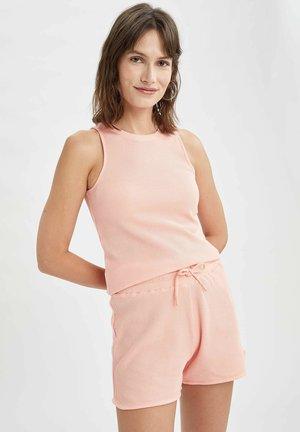 REGULAR FIT DEFACTO WOMAN TOP - Top - pink