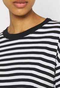 Monki - MAJA - Långärmad tröja - light blue/white/black dark - 6
