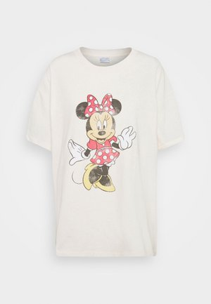 THE ORIGINAL TEE - Print T-shirt - classic minnie/white sand
