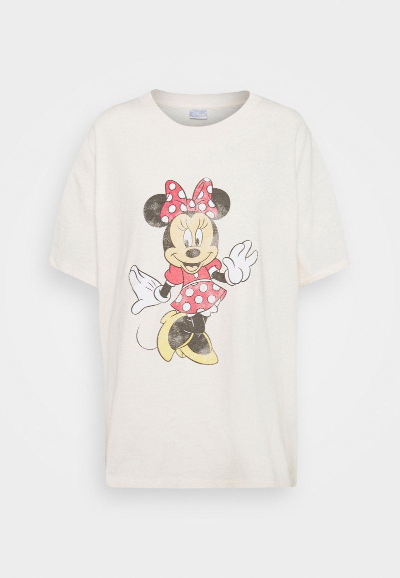 Cotton On - THE ORIGINAL TEE - T-shirt con stampa - classic minnie/white sand