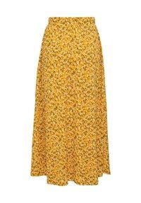 ONLY - ONLPELLA SKIRT - Maksihame - golden yellow - 6