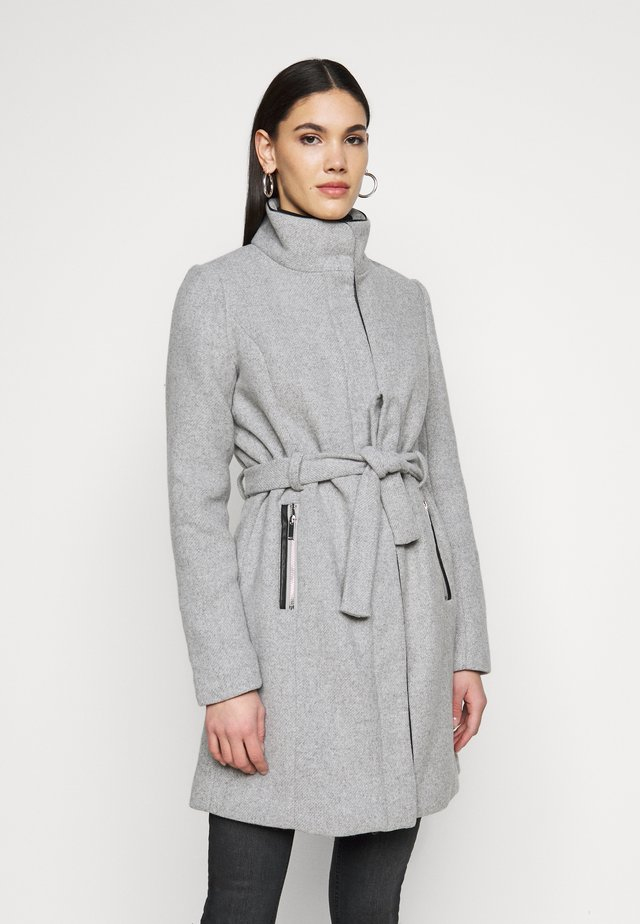 ONLMICHIGAN COAT - Zimní kabát - light grey melange