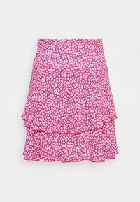 Diane von Furstenberg - MARGAUX - Áčková sukně - pink - 3