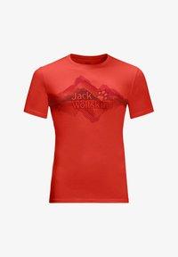 lava red