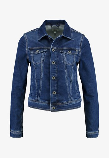 CORE JACKET - Denim jacket - gymdigo medium