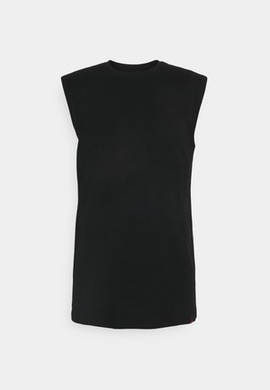 NO SLEEVE TEE - Top - black