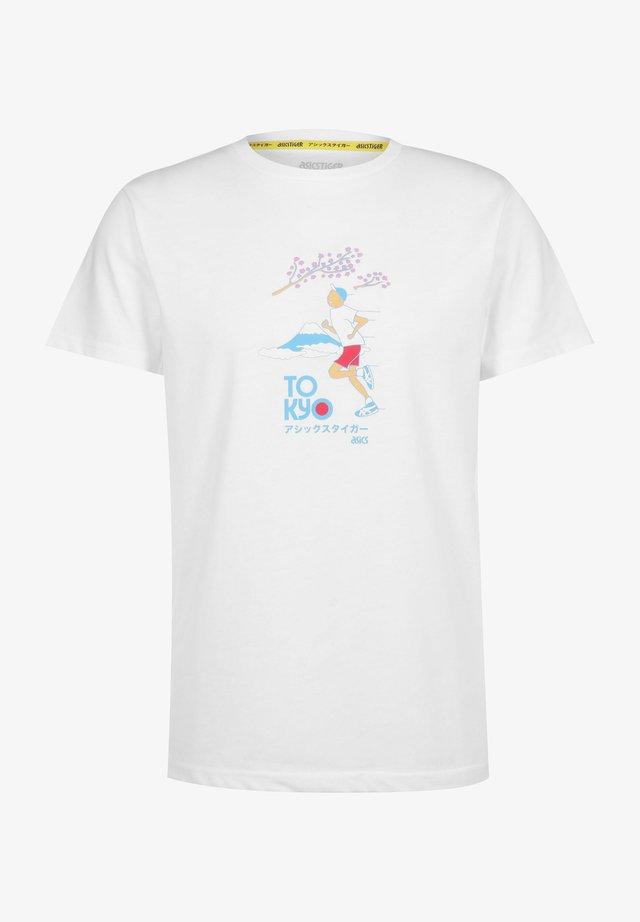 GRAPHIC - T-shirt imprimé - brilliant white