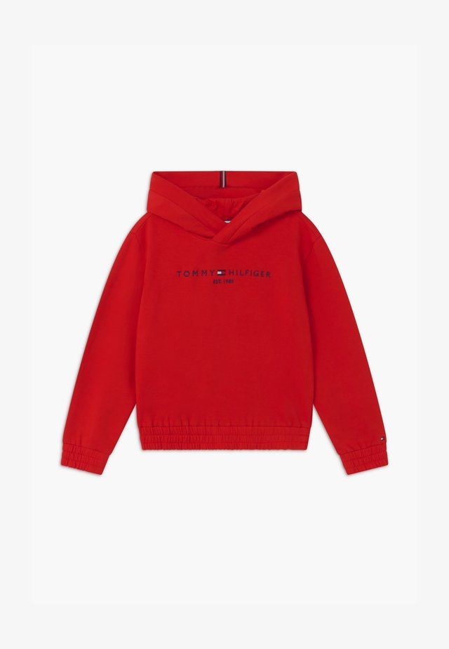 ESSENTIAL HOODED  - Sweat à capuche - red