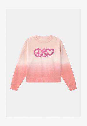GIRL TIE DYE CREW - Sweater - pink