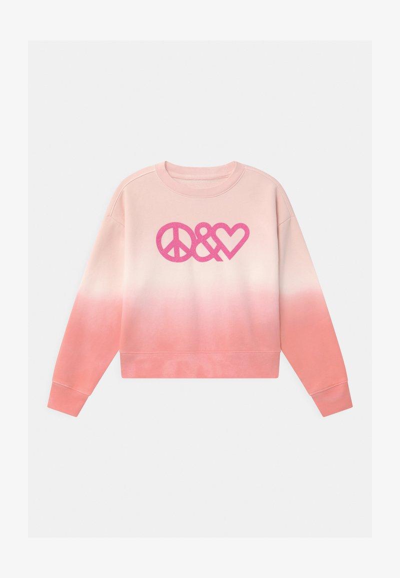 GAP - GIRL TIE DYE CREW - Sweatshirt - pink