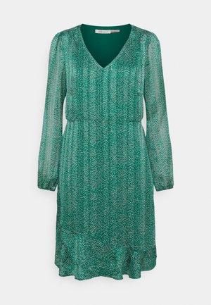 DRESS WHEAT PRINT - Day dress - green