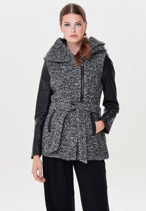 Light jacket - dark grey melange