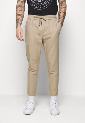 ONSLINUS CROP  - Trousers - chinchilla