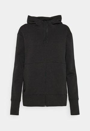 COLD.RDY GO TO HOODIE - Zip-up sweatshirt - black