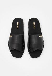 DKNY - SLIDE  - Sandaler - black - 4