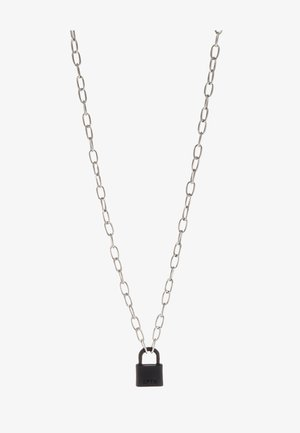 LOCKDOWN LINK CHAIN NECKLACE - Necklace - black