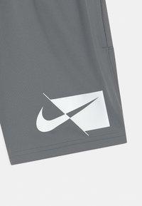 Nike Performance - PLUS - Pantalón corto de deporte - smoke grey/white - 2