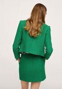 Mango - WINTOUR - A-line skirt - groen - 2
