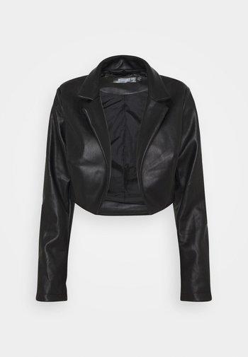 BOXY JACKET - Blazer - black